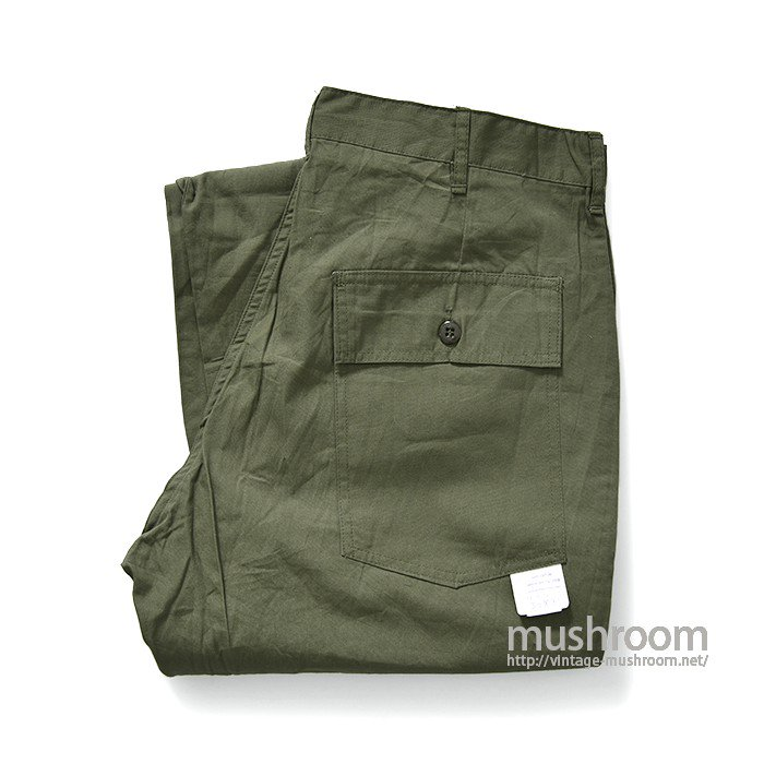 TROOPER POPLIN FATIGUE PANTS(W36L32/DEADSTOCK)