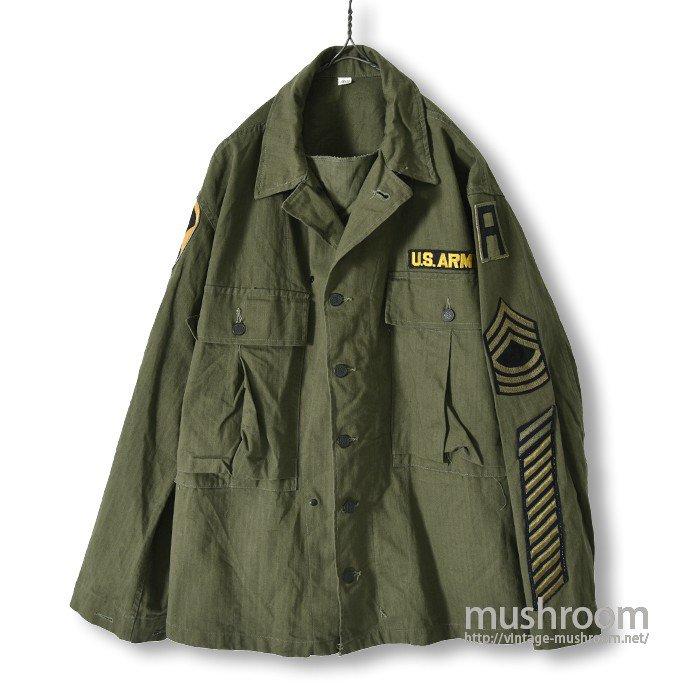 U.S.ARMY HBT UTILITY JACKET( 1WASH/MINT )