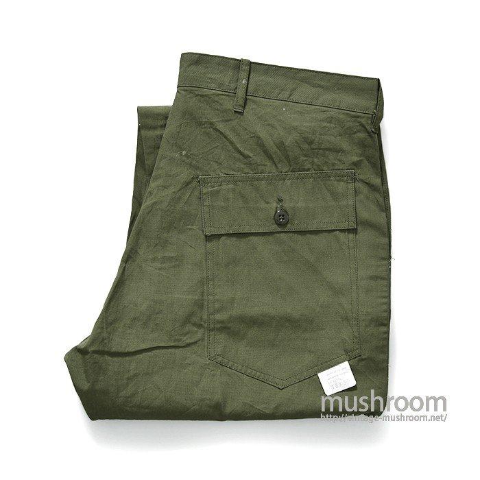 OLD POPLIN FATIGUE PANTS(W38L30/DEADSTOCK)