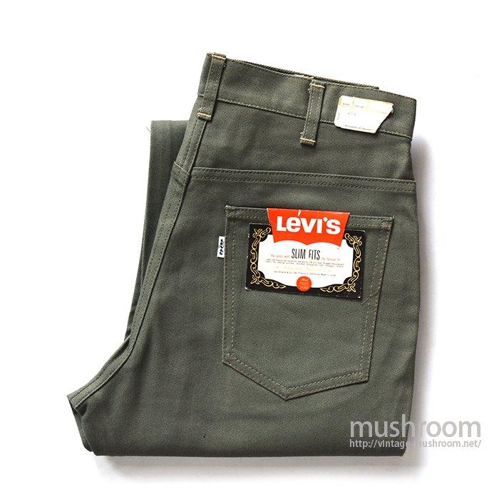 LEVI'S 518E SLIM FITS PANTS( W30L28/DEADSTOCK )