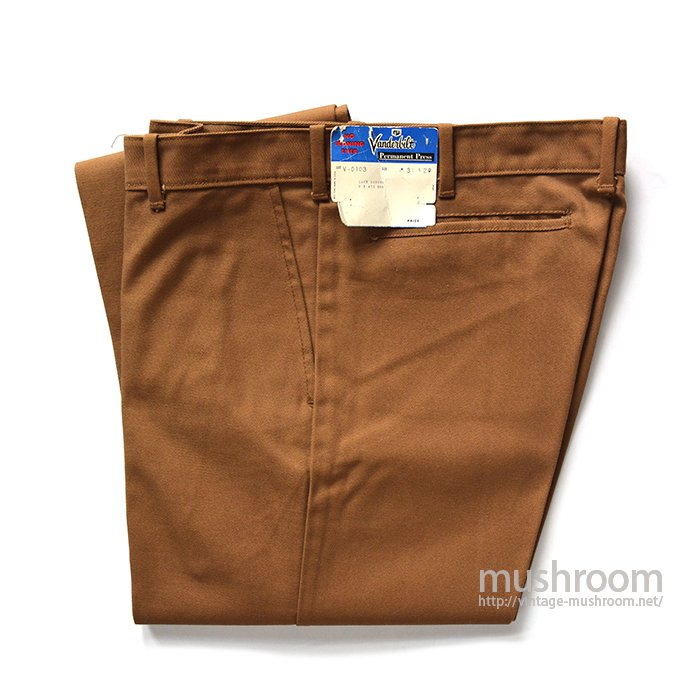 VANDERBILT TAPERED PANTS( W31L29/DEADSTOCK )