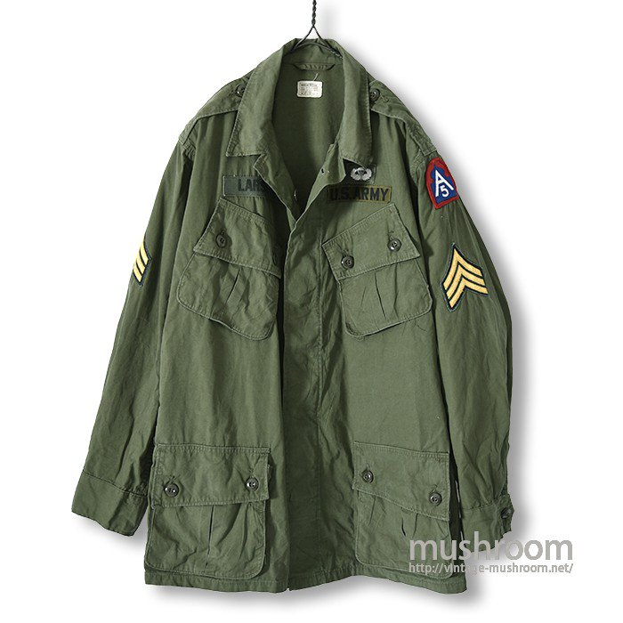 U.S.ARMY JUNGLE FATIGUE JACKET( M-REGULAR  )