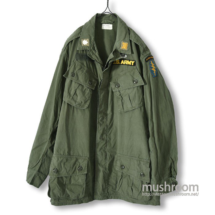 U.S.ARMY JUNGLE FATIGUE JACKET( M-LONG  )