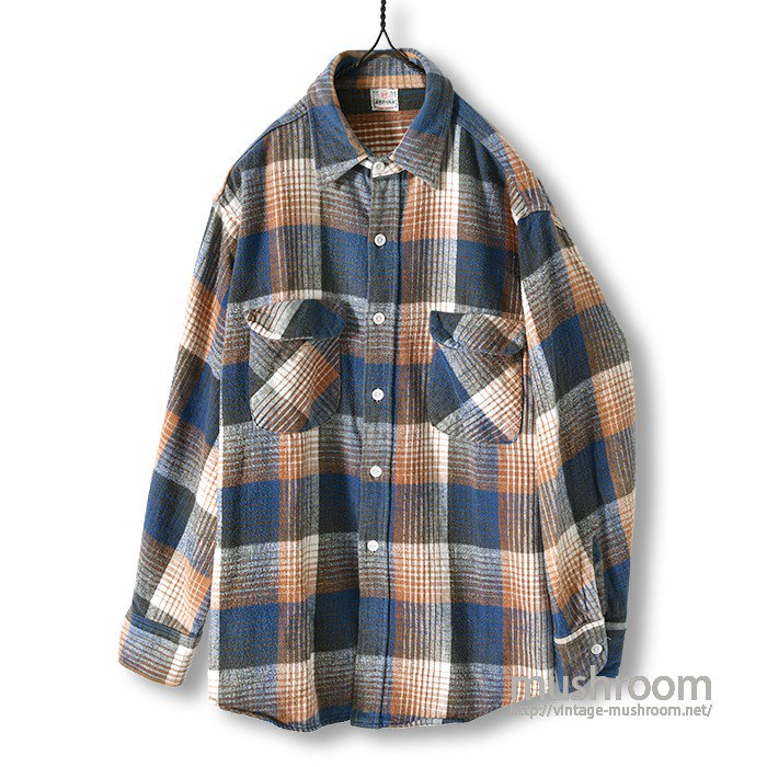 POLAR PLAID FLANNEL SHIRT