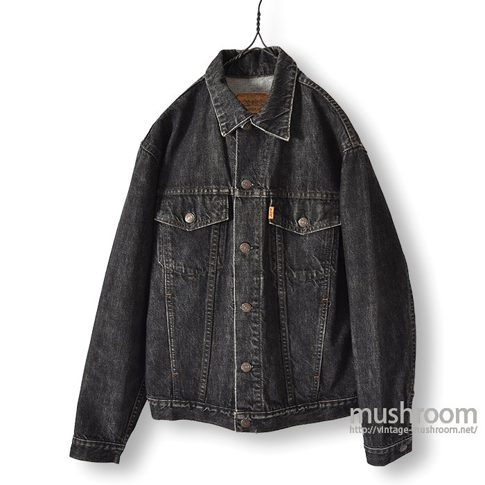 LEVI'S BLACK DENIM JACKET