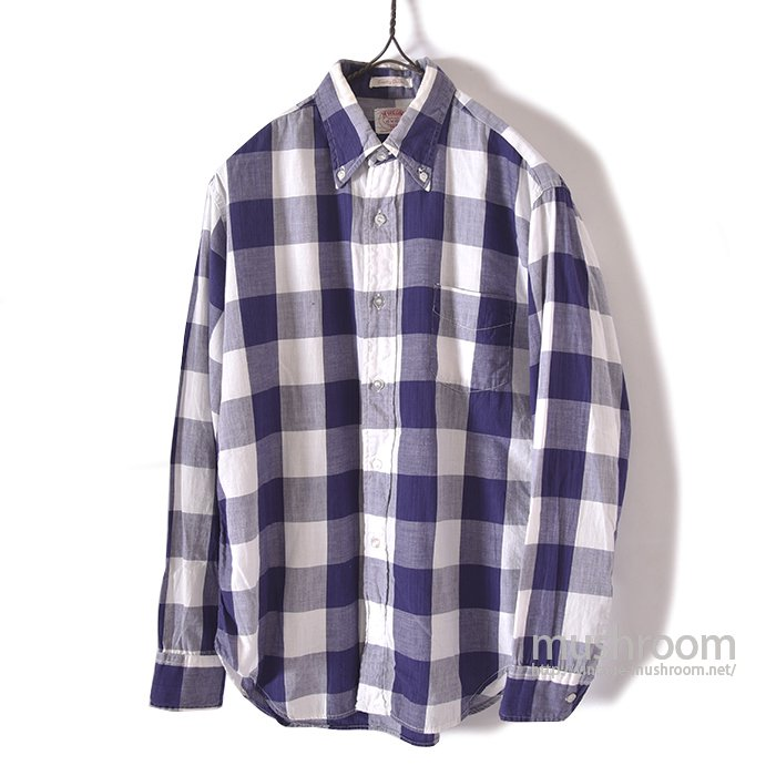 MCGREGOR PLAID BD SHIRT(M/MINT)