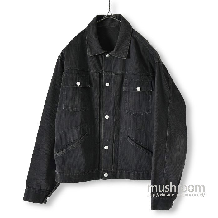 JCP FOREMOST BLK PIQUE JACKET