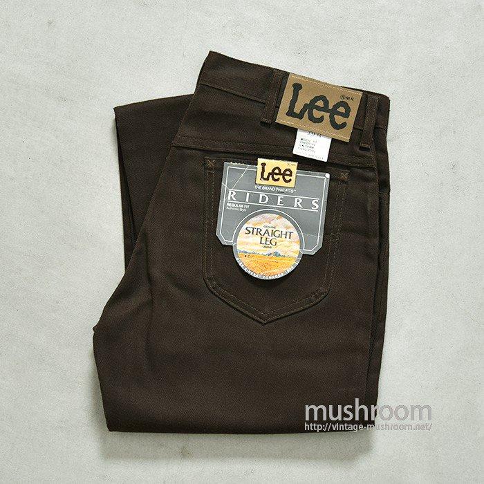 Lee 200 REGULAR-FIT PANTS(33-34/DEADSTOCK)