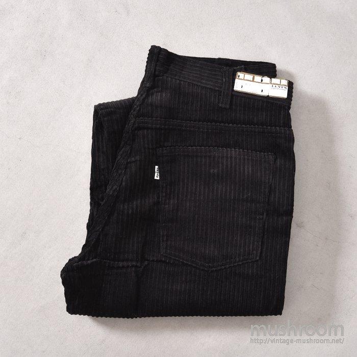 LEVI'S 518E BLACK CORDUROY PANTS( W34/L34/DEADSTOCK )