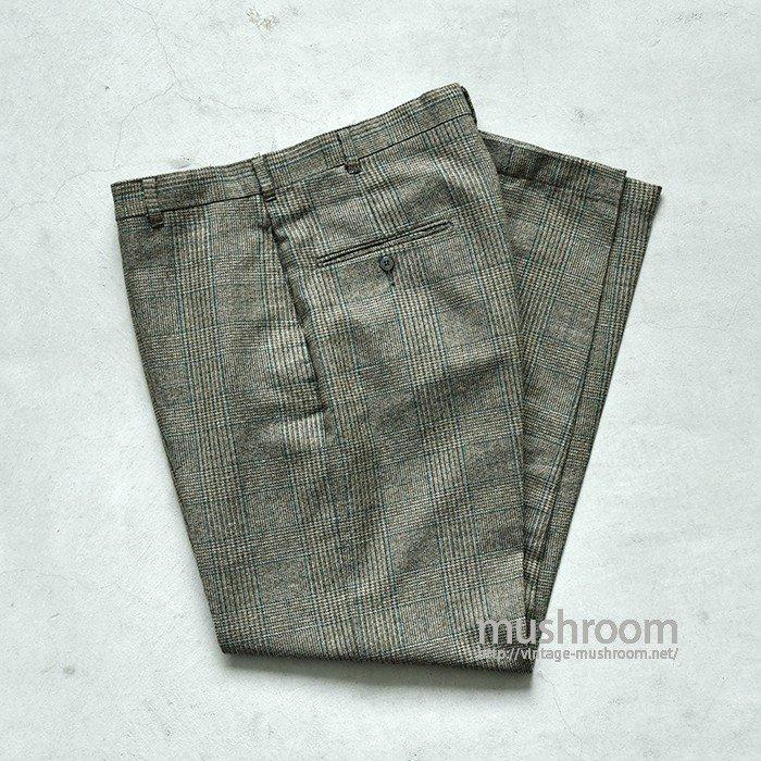 LEVI'S STA-PREST PLAID  PANTS