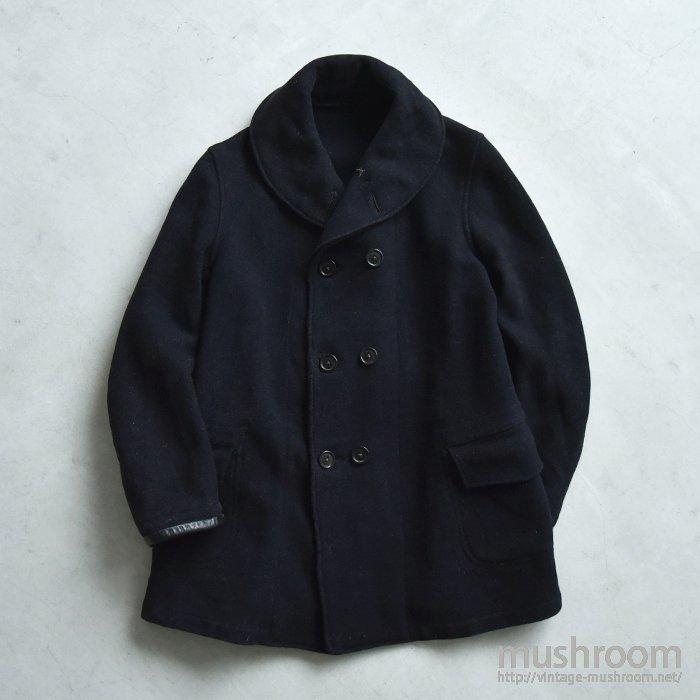 BLACK BEAR SHAWLCOLLER MACKINAW COAT
