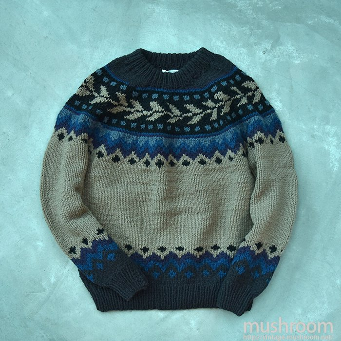 OLD NORDIC SWEATER(MINT)