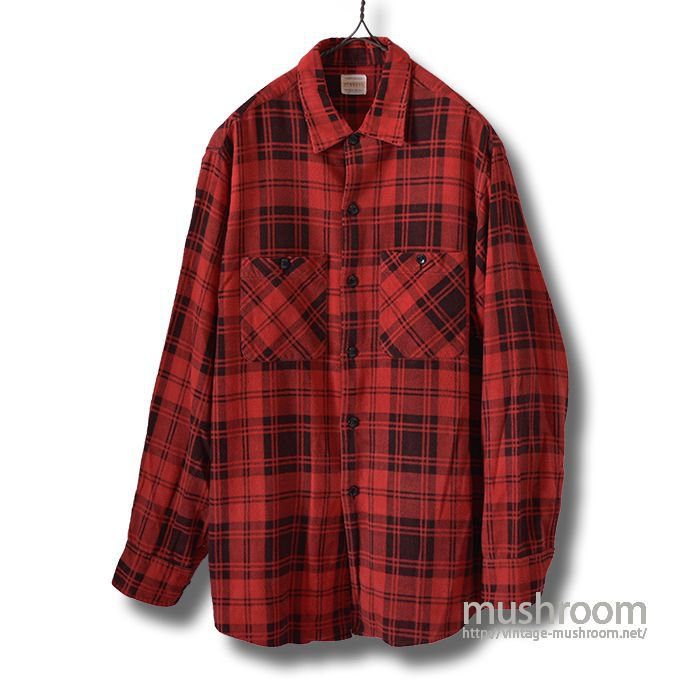 PENNEY'S PRINT FLANNEL SHIRT
