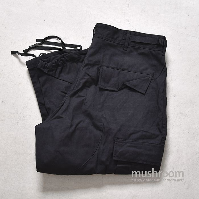 U.S.MILITARY BLACK 357 BDU PANTS( M-SHORT/DEADSTOCK )