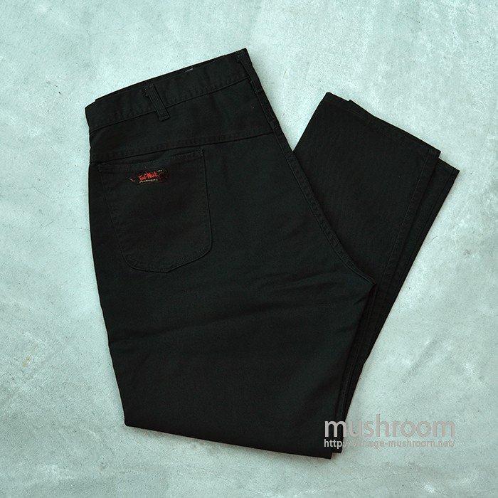 TUF-NUT BLACK TWILL PANTS