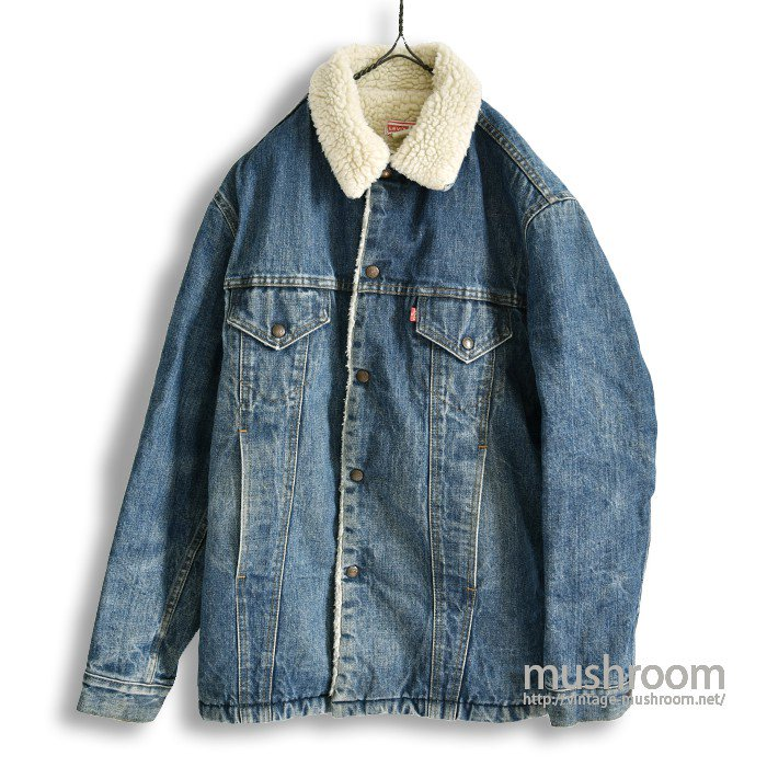 LEVI'S 71605-0217 DENIM BOA JACKET