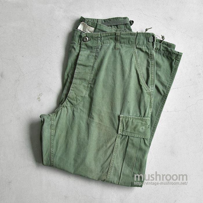 U.S.ARMY JUNGLE FATIGUE PANTS( L-SHORT )