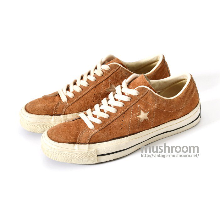 CONVERSE ONE-STAR SUEDE SHOE( ALMOST DEADSTOCK/US8 )