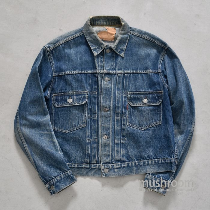 LEVI'S 507 E DENIM JACKET(UNUSUAL DETAIL/42)