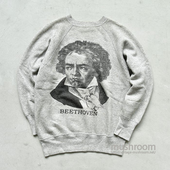 BEETHOVEN PRINT SWEAT SHIRT( MINT )