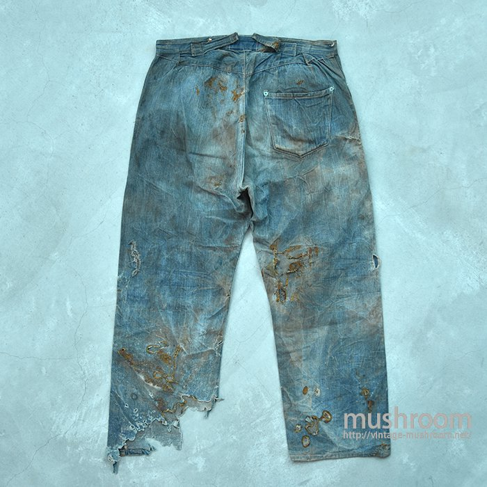 1873's LEVI'S DENIM WAIST-OVERALLS(DREAM JEANS)