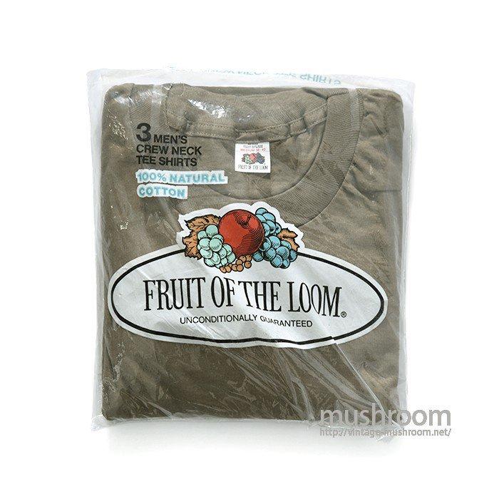 FRUIT OF THE LOOM BLANK 3PACK T-SHIRT( M/DEADSTOCK )