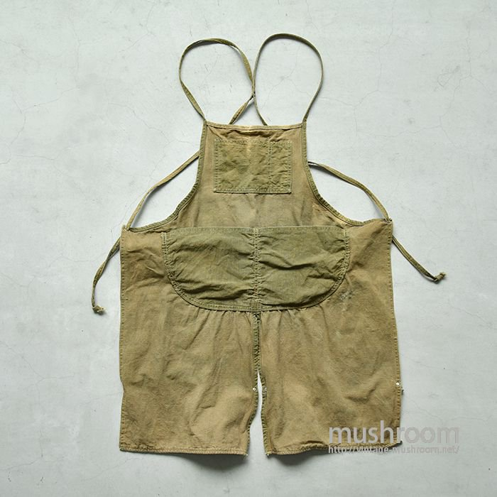 OLD BROWN DUCK WORK APRON