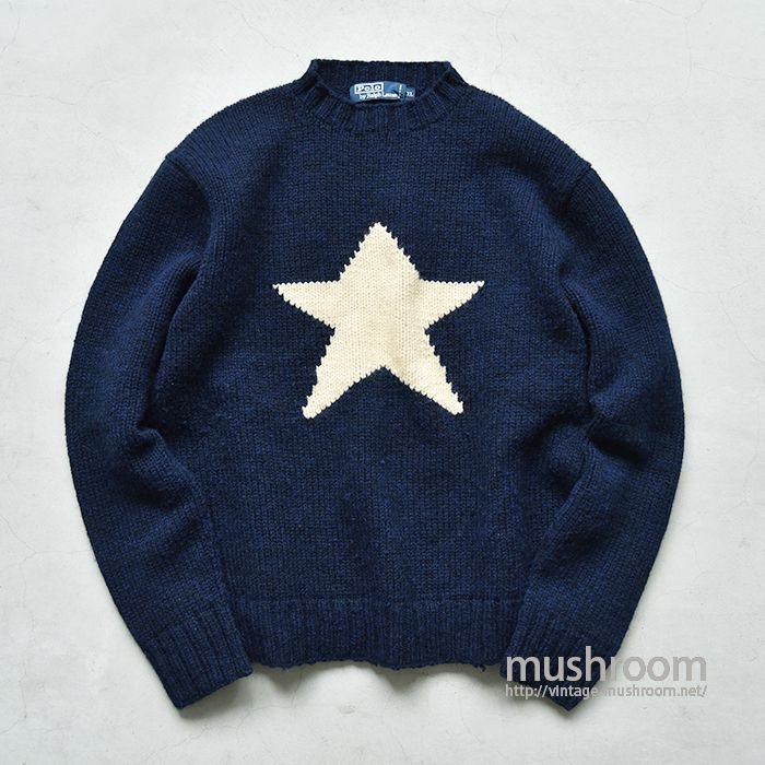 Polo by ralph lauren star sweater(x-large)