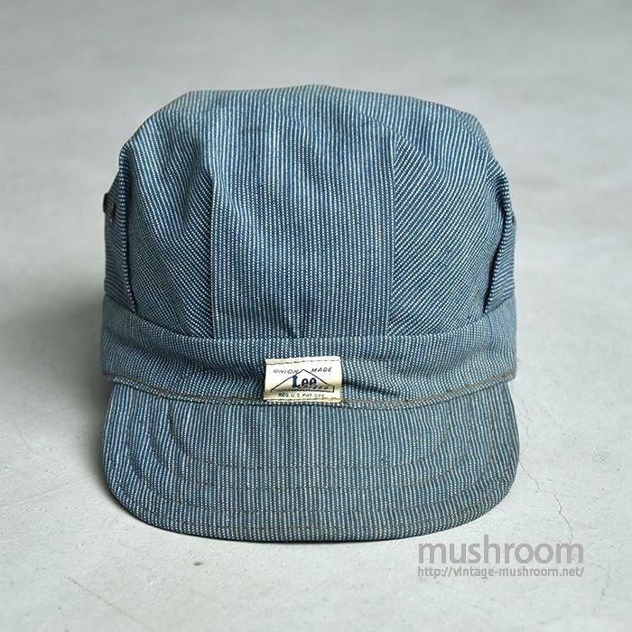 Lee PIN STRIPE WORK CAP(HOUSEMARK TAG)