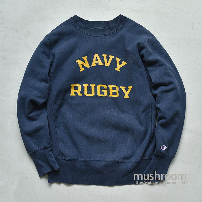 CHAMPION NAVY RUGBY REVERSE WEAVE