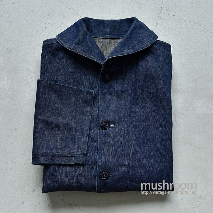 U.S.NAVY 1924 DUNGAREE DENIM JACKET(DEADSTOCK)