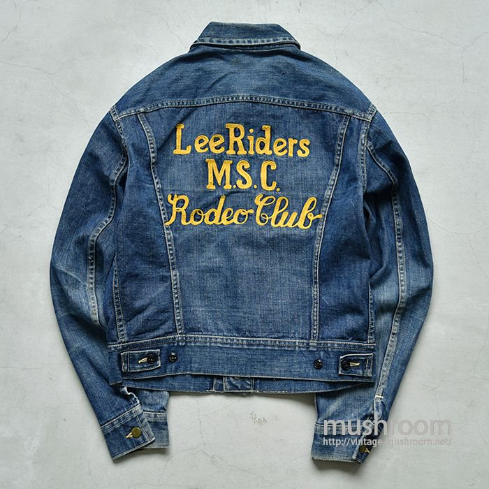 Lee 101-J DENIM JACKET WITH EMBROIDERY