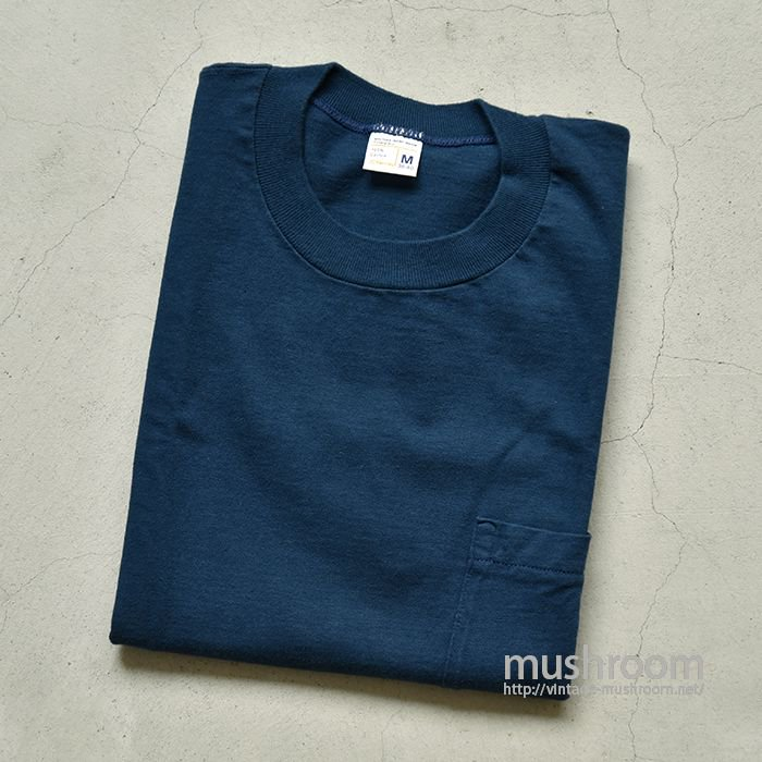 JCPENNEY COTTON POCKET T-SHIRT( M/DEADSTOCK )