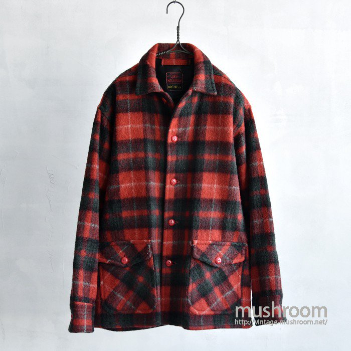 CARSS MACKINAW PLAID WOOL JACKET