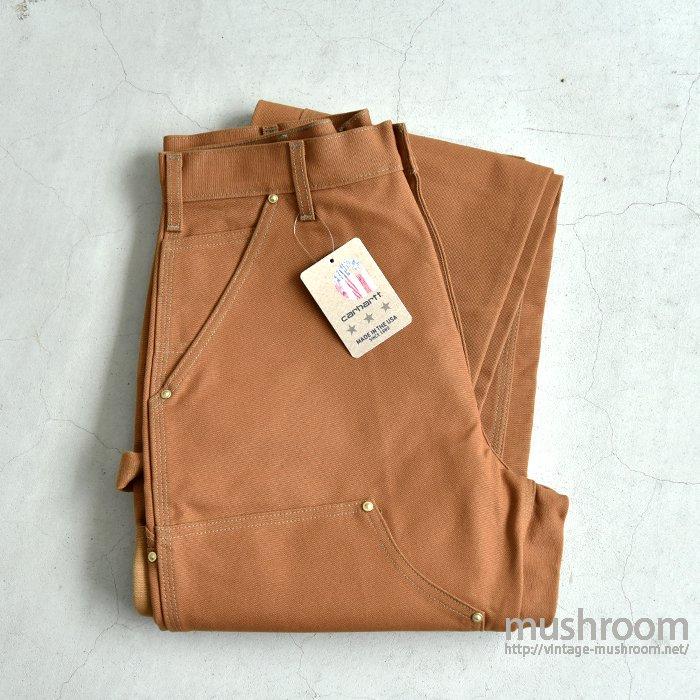 CARHARTT BROWN DUCK DOUBLE KNEE PANTS(32-32/DEADSTOCK)