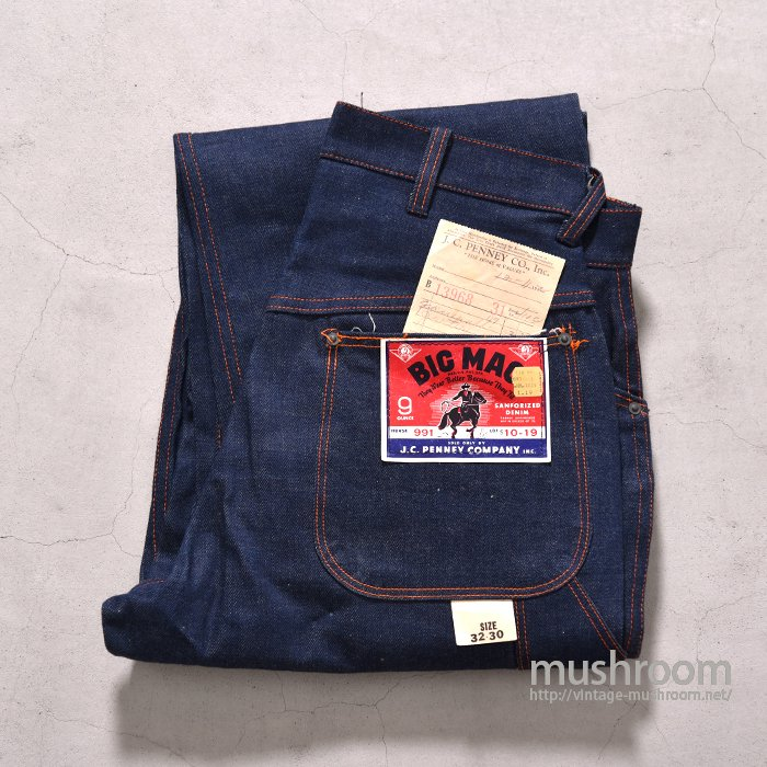 WW2 BIG MAC DENIM PAINTER PANTS( 32/30/DEADSTOCK )
