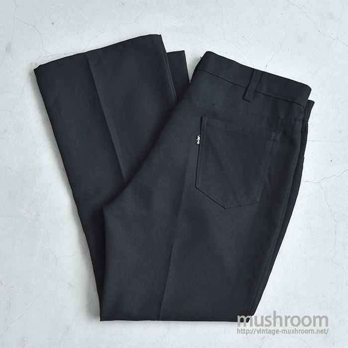 LEVI'S 517 STA-PREST PANTS(BLACK)