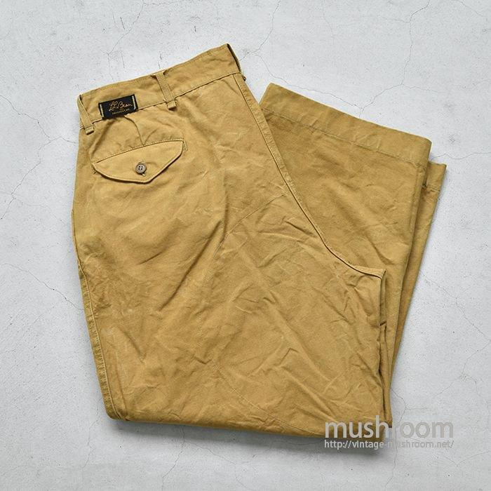 L.L.BEAN COTTON HUNTING PANTS