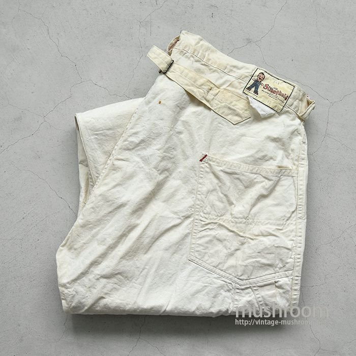 STRONGHOLD COTTON PAINTER PANTS WITH BUCKLEBACK