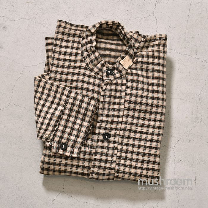 OLD PLAID MINERS SHIRT( 15/DEADSTOCK )