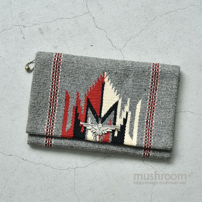OLD HAND WOVEN CHIMAYO PURSE( DEADSTOCK )