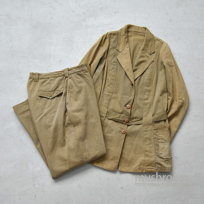 OLD NORFOLK STYLE HUNTING JACKET&TROUSER(FOR GIRL SCOUTS)