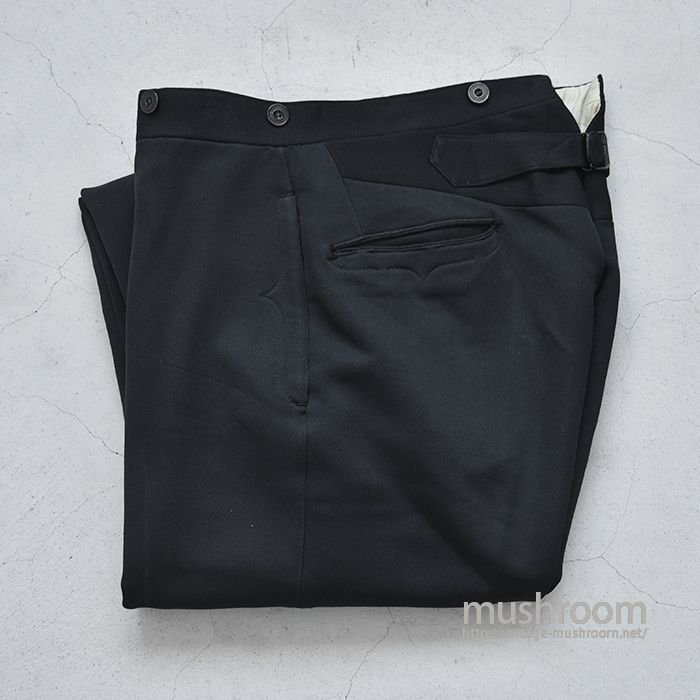 OLD TAILOR MADE TROUSER WITH BUCKLEBUCK