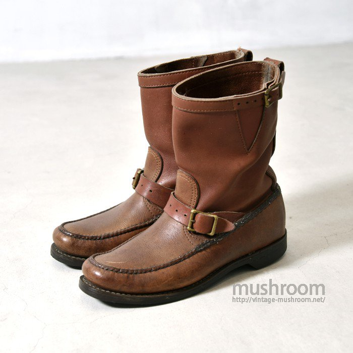 OLD SNAKE LEATHER BOOTS