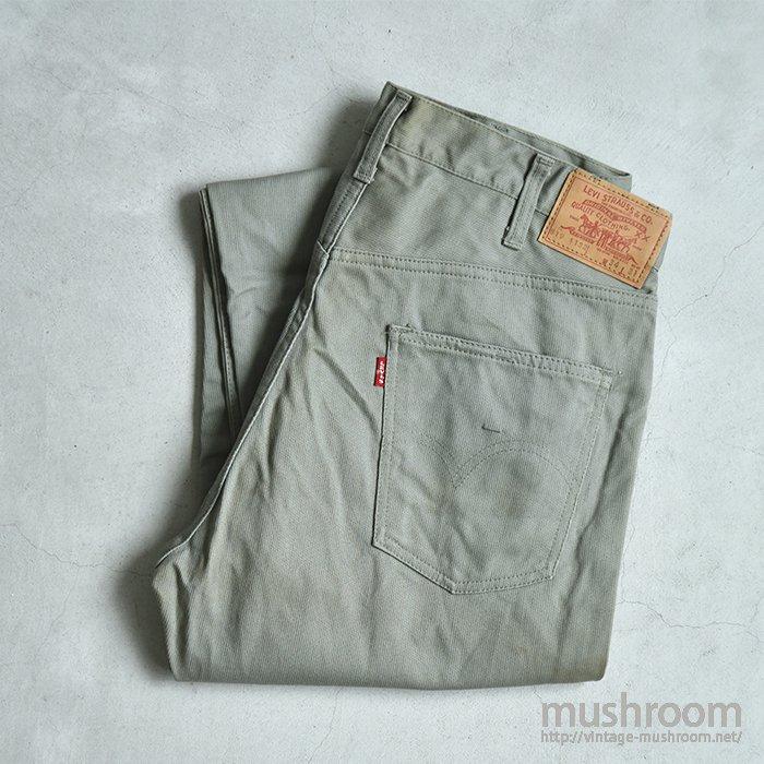 LEVI'S 519-1132 A TYPE PIQUE PANTS(34-31/DEADSTOCK)