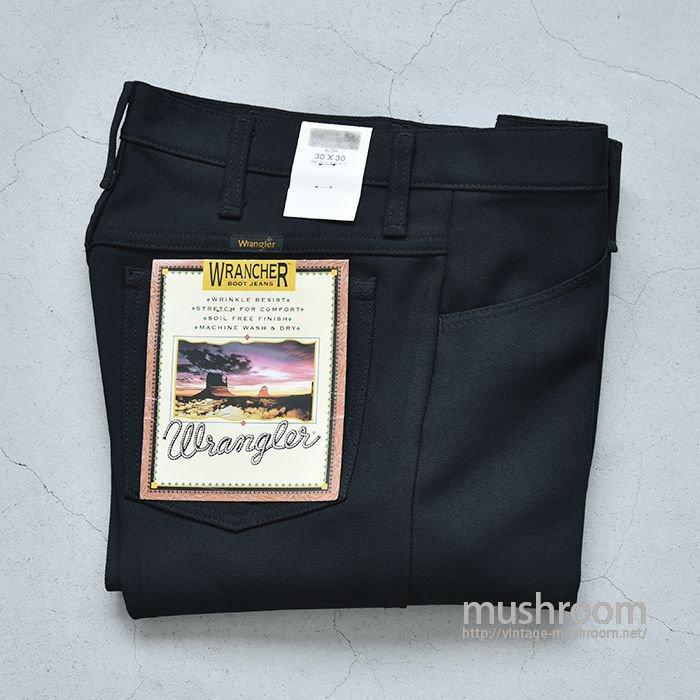 WRANGLER WRANCHER PREST PANTS( W30L30/BLACK/DEADSTOCK)