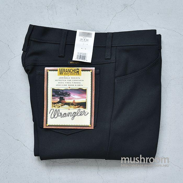 WRANGLER WRANCHER PREST PANTS( W31L30/BLACK/DEADSTOCK)