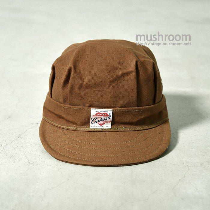 CARHARTT BROWN DUCK WORK CAP(7 1/4/DEADSTOCK)