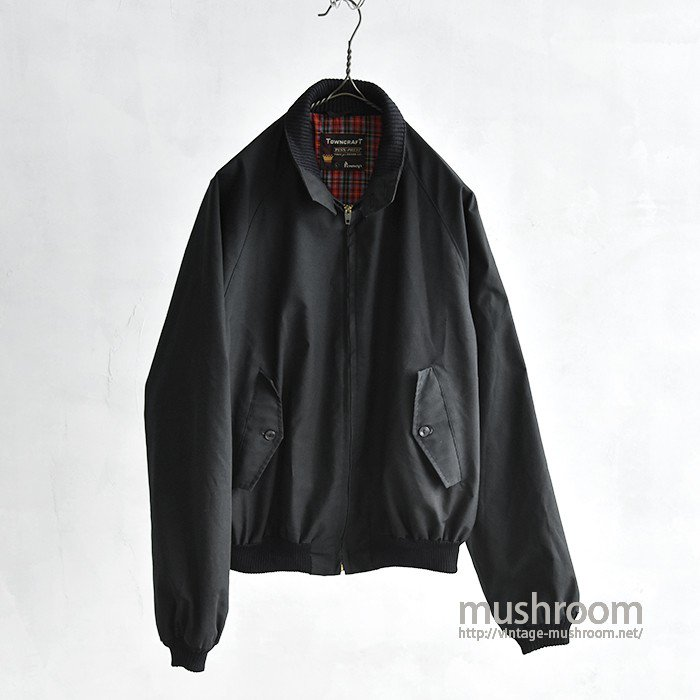 TOWNCRAFT BLACK DRIZZLER JACKET(MAYBE..DEADSTOCK)