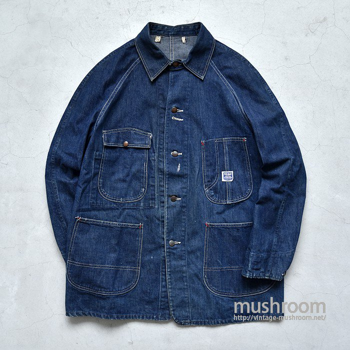 PAY DAY DENIM COVERALL